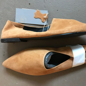 H&M Pointy Flats - 8.5 - Tan Suede